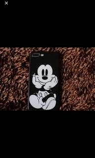 Iphone case mickey mouse black