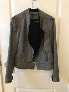 SABA Jacket 8 - grey/metallic stitching
