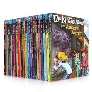 💥NEW- A to Z Mysteries 26 books set- Children story books