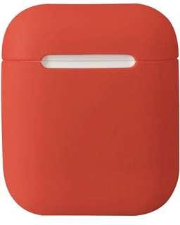 (1348) DamonLight Airpods Case Protective Silicone Cover and Skin for Apple Airpods Charging Case (Red)