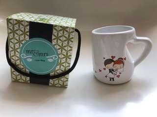 Mr and Mrs Love Mug