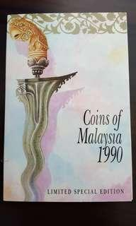 1990 limited edition Coins of Malaysia,