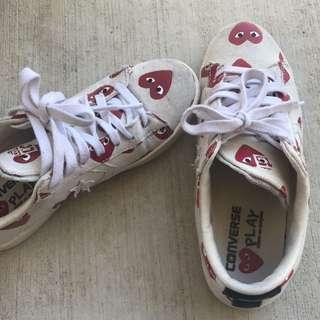 Commes de garçons x Converse Sneakers