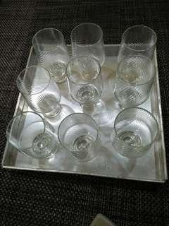 Pyrex Drinking Glass