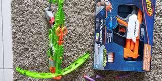 Nerf Zombie Outbreaker Bow & Stockshot Modulus
