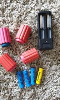 Battery for nerf stryfe or Hyperfire