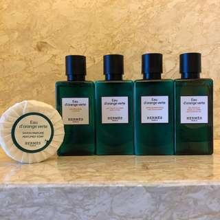 Hermes Travel Set with Soap