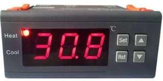 [E612]MH1210A AC 110V Digital LCD Display Temperature Controller Thermostat with Sensor