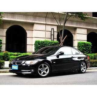 2010年小改款LCI 325CI雙門轎跑 一手女用車 全程原廠保養 直六引擎