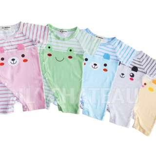 CLEARANCE SALE!!! Rompers (striped) - Animal