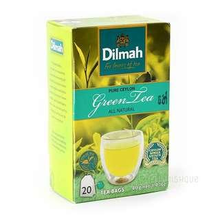 Dilmah All Natural Pure Ceylon Green Tea 純天然錫蘭綠茶