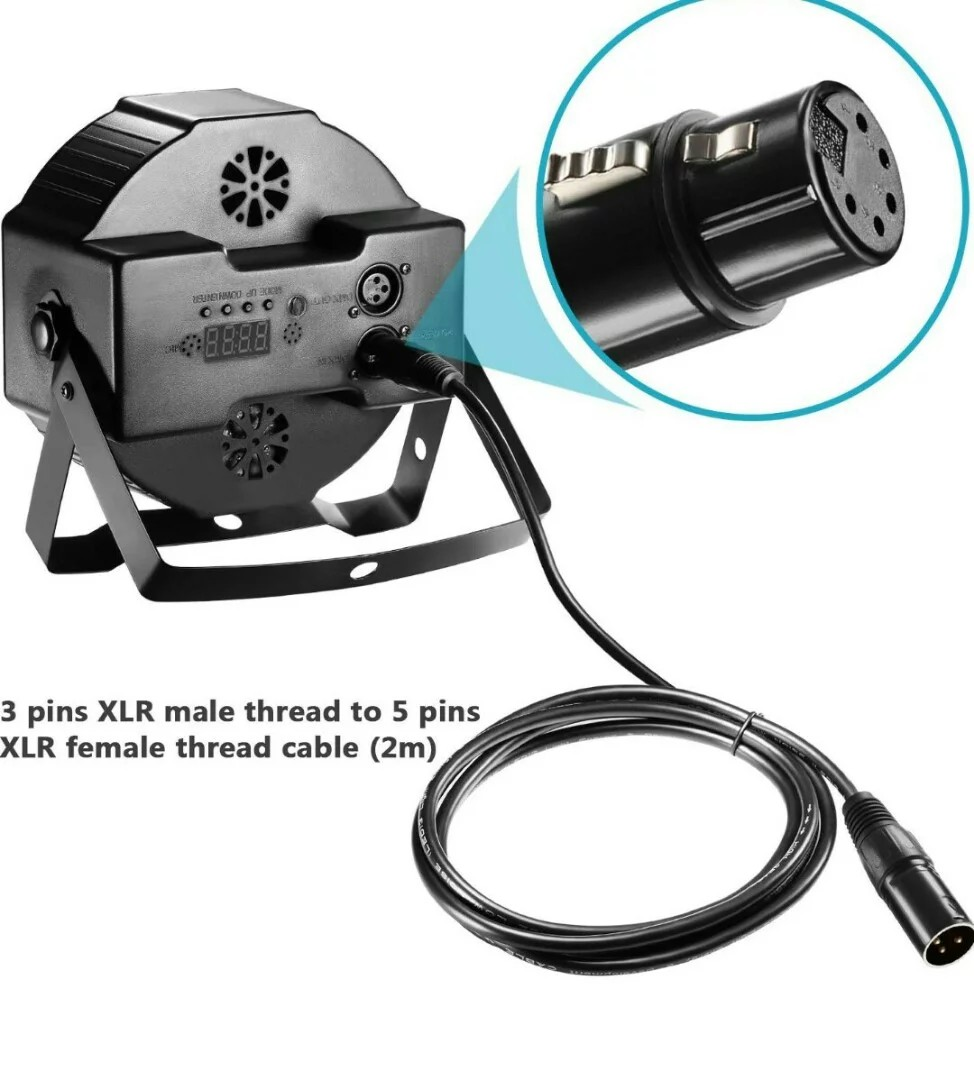 Excellent 1277 Neewer 6 5 Foot 2 Meters Dmx Stage Light Cables Wires With 3 Wiring Digital Resources Skatpmognl
