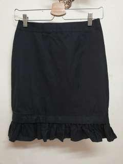 059 Cultivation Elle black skirt