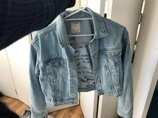 Bershka denim jacket