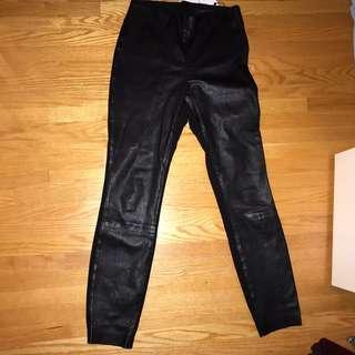 Rag&Bone LEATHER PANTS. 24-27 inch waist.