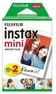 10 Films x 2 Polaroid Film Mini Instax