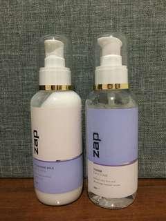 ZAP Cleansing Milk & Toner