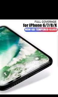 🚚 BNIB 6D Tempered Glass IP7Plus
