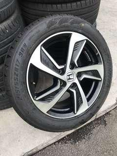 "Odysessy 17"" with Tyres"