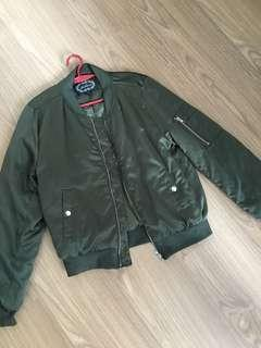 Olive Green/Army Green Bomber Jacket