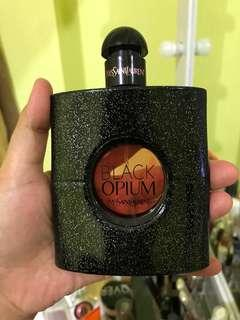 Jual preloved parfum Black Opium YSL 90ml original