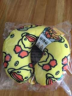 正品 B duck頸枕