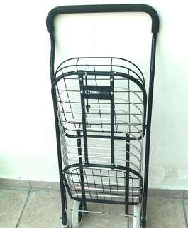 Shopping Trolley Chrome ( perfect condition)