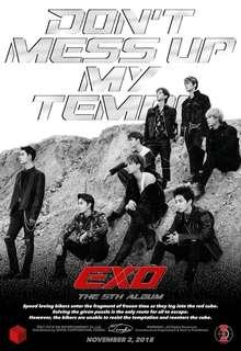 [WTB] EXO 'DON'T MESS UP MY TEMPO'