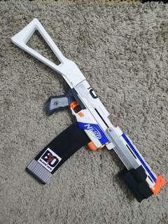 Nerf Retaliator Mod (White Ghost)