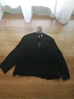 Preloved H&M Victorian Beaded Blouse