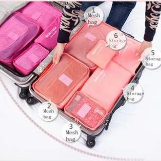 Traveling Bag Organizer 6 in 1-5FIRT0049