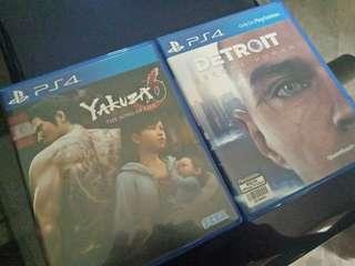 Yakuza 6 & Detroit Become Human