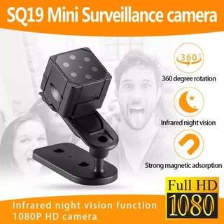 🆒🆕 SQ19 Mini Camera HD 1080P Sensor Night Vision Camcorder Micro video Camera DVR DV Motion Recorder Camcorder Support 32GB TF Card