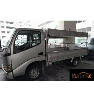 LORRY (WITH CANOPY) FOR RENT!!!