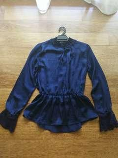 Preloved SEED Victorian Blouse