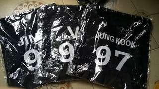 BTS drawstring bags (RESTOCKED!!!)