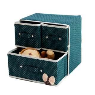 Laci Multifungsi 3 in 1 Storage Organizer Drawer-5FIRT0053