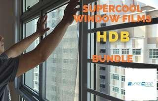 SuperCool Window Films Window Films Complete Package
