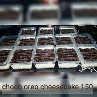 CHOCO OREO CHEESECAKE