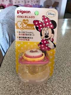 🚚 全新 日本貝親迪士尼系列安撫奶嘴 M號