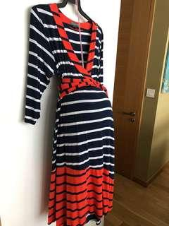 Reduced! Maternity Wrap Dress