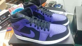 AIR JORDAN 1 MID CONCORD US10.5