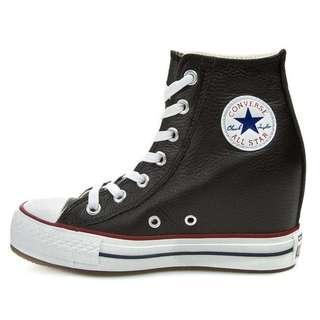 Converse Wedge Platform Hi Top Sneakers