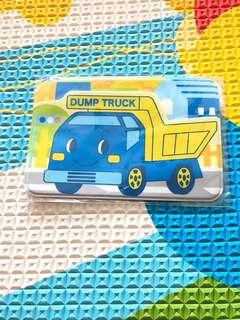 Brand New Sanrio The Runabouts Dump Truck Card Holder