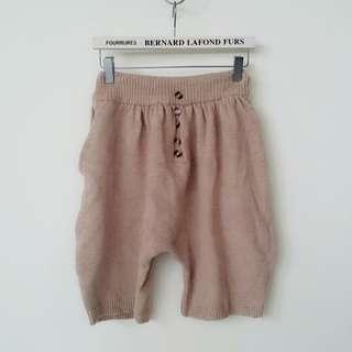 可愛針織鬆緊五分褲#半價衣服市集