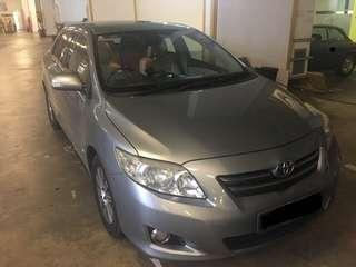 $300 WEEKLY TOYOTA ALTIS 1.6A, UP TO 3 DAYS FOC RENTAL.WHATSAPP 90877770 NOW!