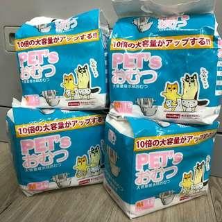 狗女尿褲 生理褲 size M Diapers for female dog cat