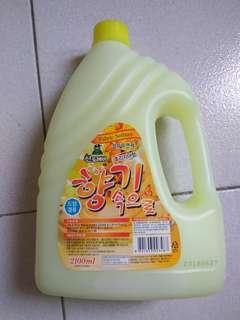 韓國進口SANDOKKAEBI山鬼洗衣精,小蒼蘭香味,2100ml大容量,現貨特價140元