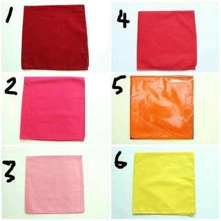 $3 each Plain Bandana 53cm x 53cm big 14 colors