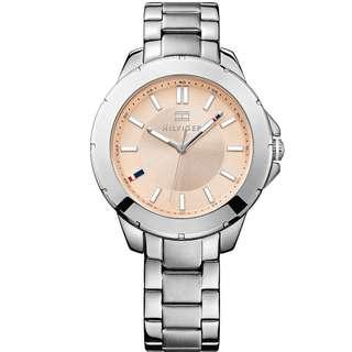 Tommy Hilfiger Champagne Dial Stainless Steel Ladies Watch 1781415
